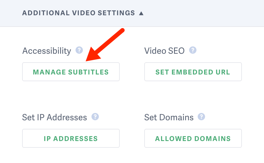 How to manage your subtitles in your SproutVideo video hosting account