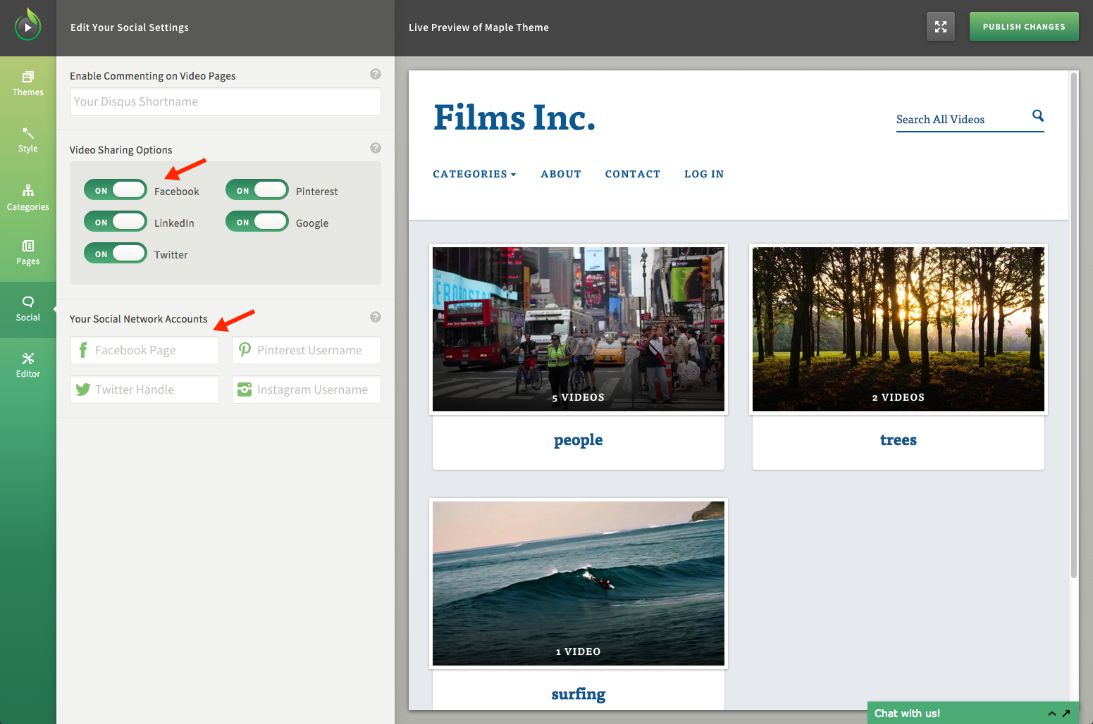 Enable Social Sharing Options for Your SproutVideo Website