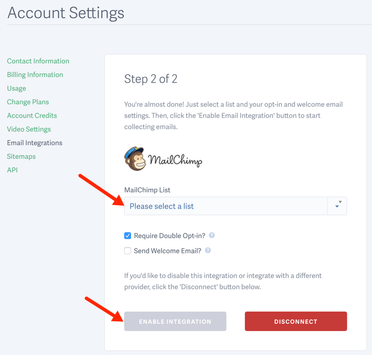 How to Integrate MailChimp with SproutVideo for Video Email Marketing