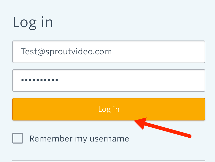 Log in to Constant Contact