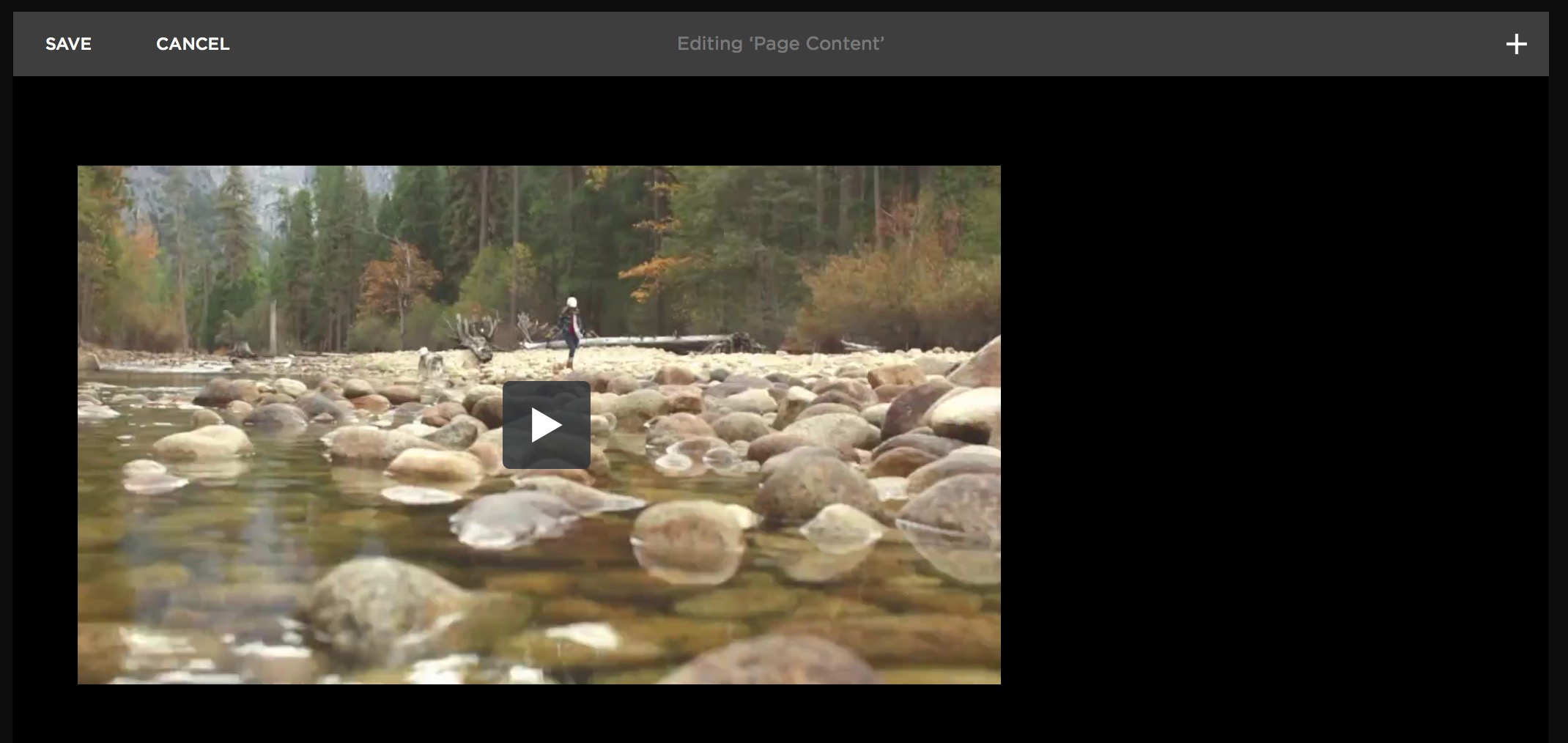 See your video on Squarespace
