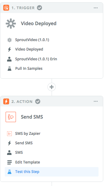 SproutVideo Zapier Integration