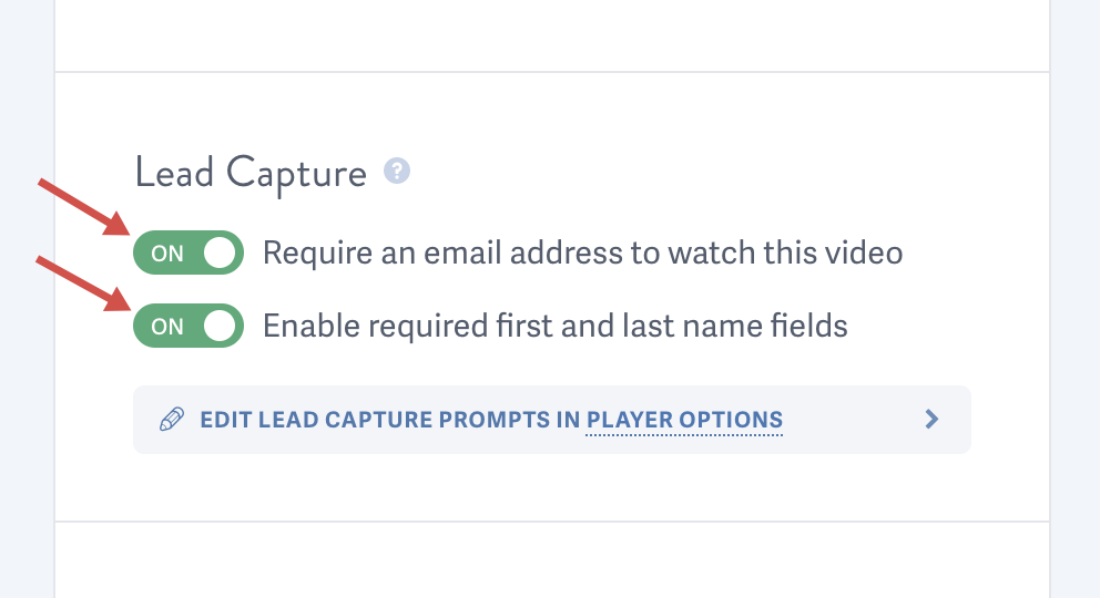 Set up lead capture for a video hosted by SproutVideo
