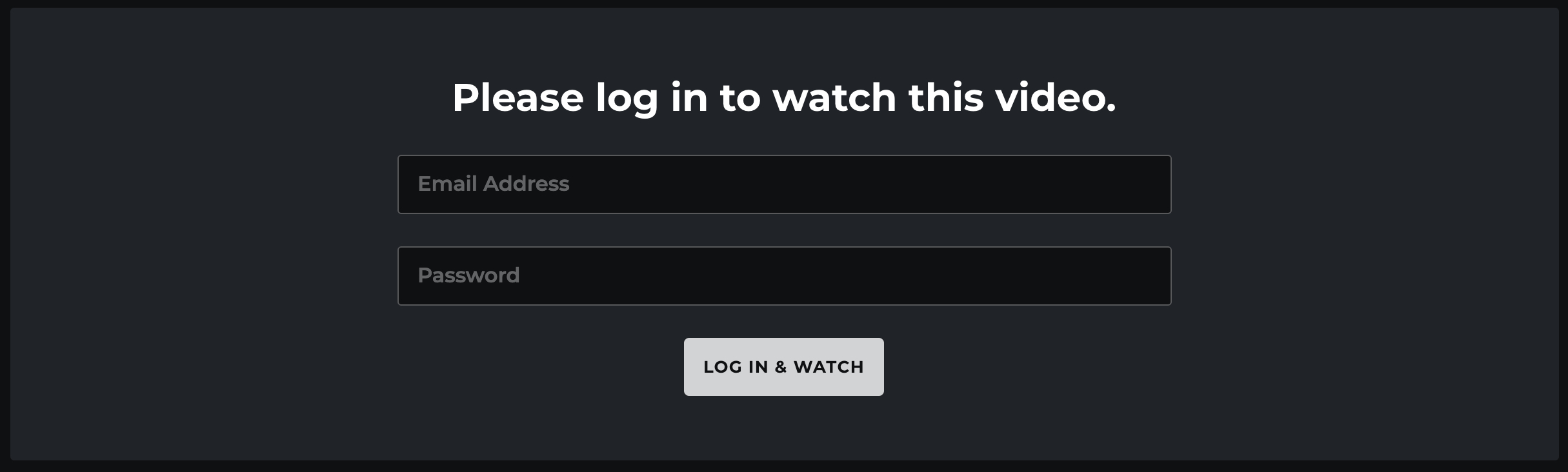 Login protection enabled